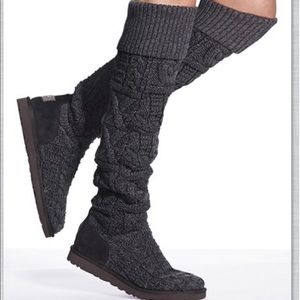Ugg Women's Over The Knee Twisted Cable Boot